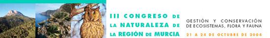 III Congreso de la Naturaleza de la Región de Murcia