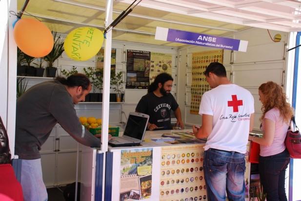 Caseta en la feria de Asociaciones /ANSE