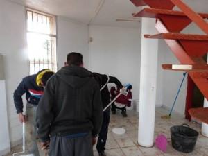 limpieza y pintado de edificaciones