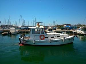 El Orca entrando al puerto de San Pedro del Pinatar