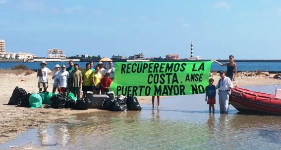 Protesta Puerto Mayor