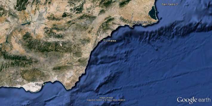 Mapa zona de actuación