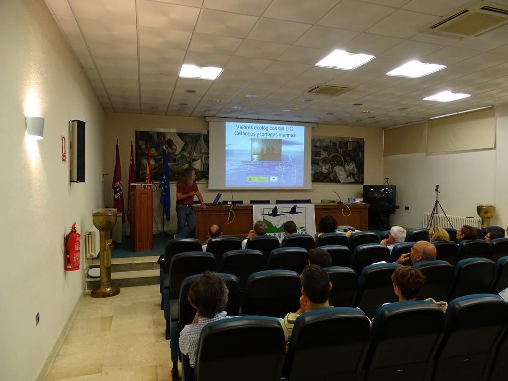 Pedro García dando comienzo a la ponencia de ANSE (ANSE)