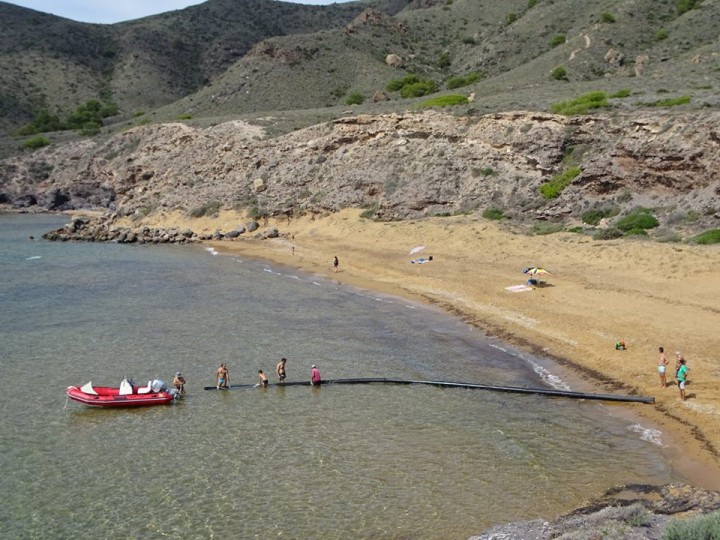 limpiezas de playas en Calblanque