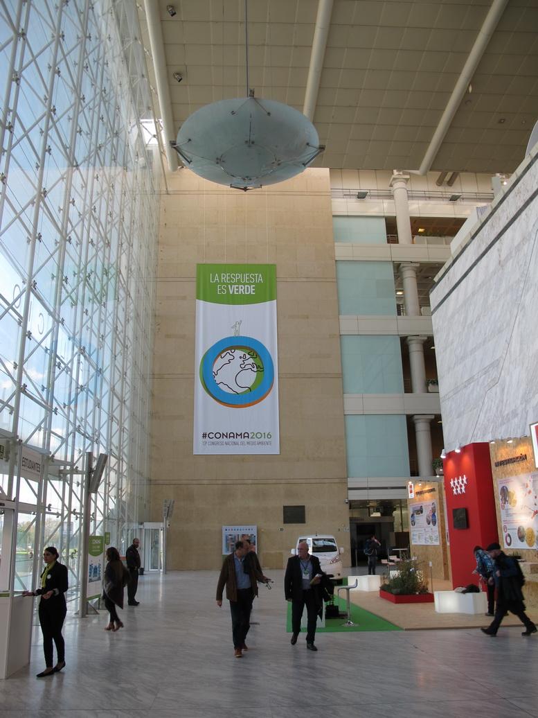 El Palacio Municipal de Congresos de Madrid fue el impresionante escenario de la celebración del CONAMA 2016