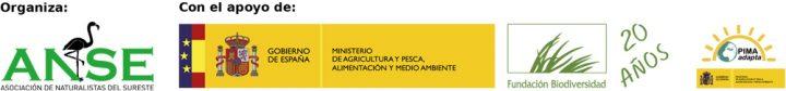 Logotipos organizadores y colaboradores del proyecto ecosistemas litorales