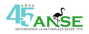 Logotipo 45 aniversario ANSE