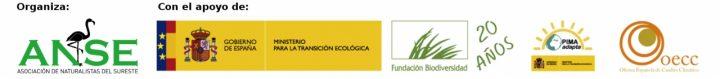Logos cambio climático en el Mar Menor
