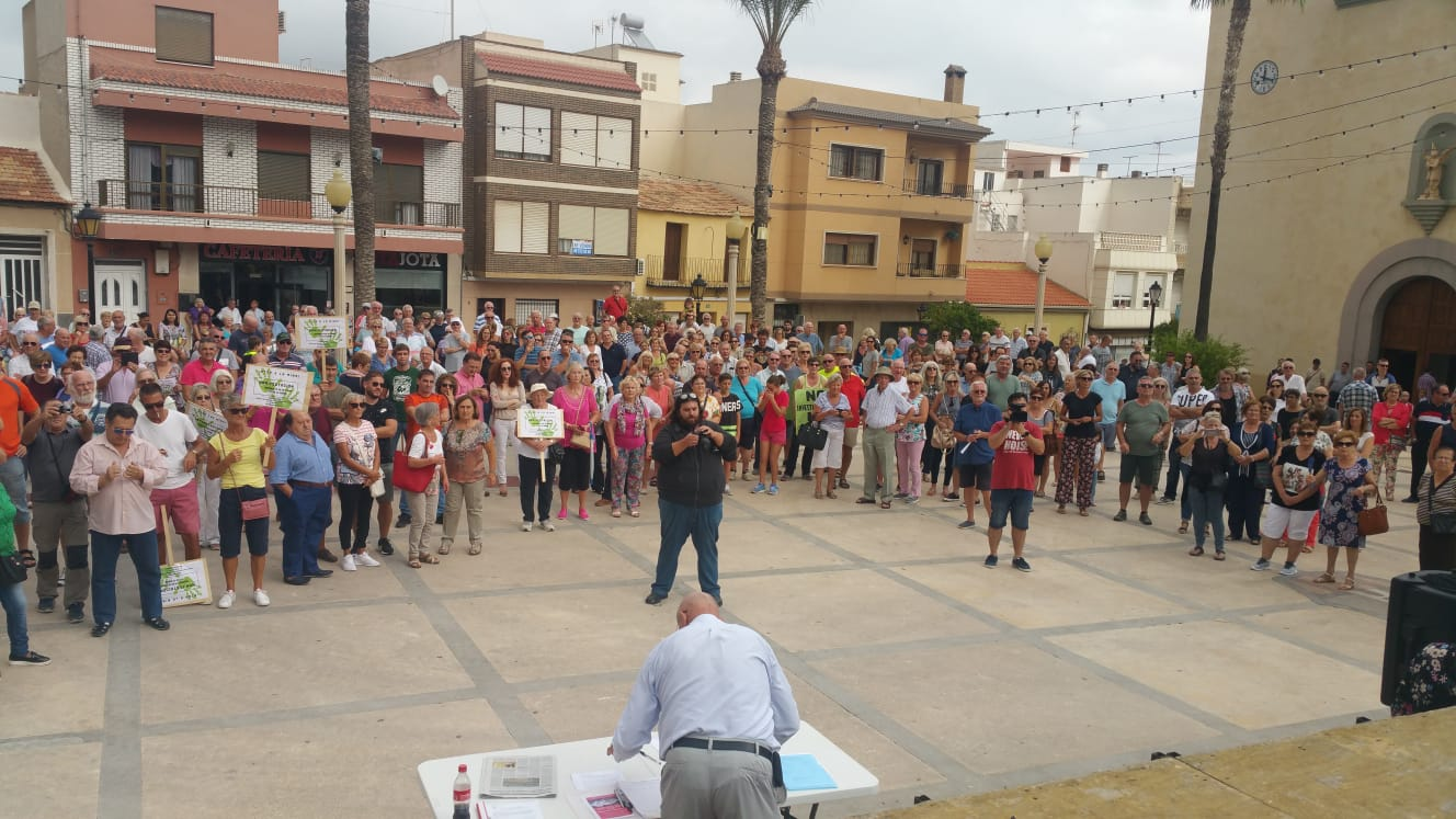 Protesta en SanMiguel de Salinas
