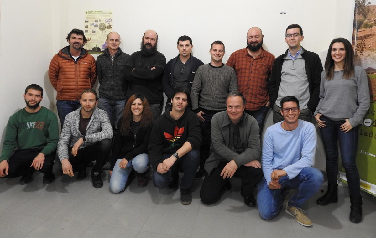 Foto de la última reunión del Proyecto Encebra