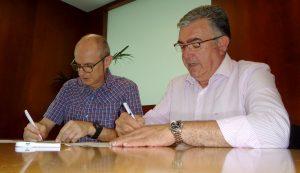 Firma Convenio Aguas de Murcia y ANSE